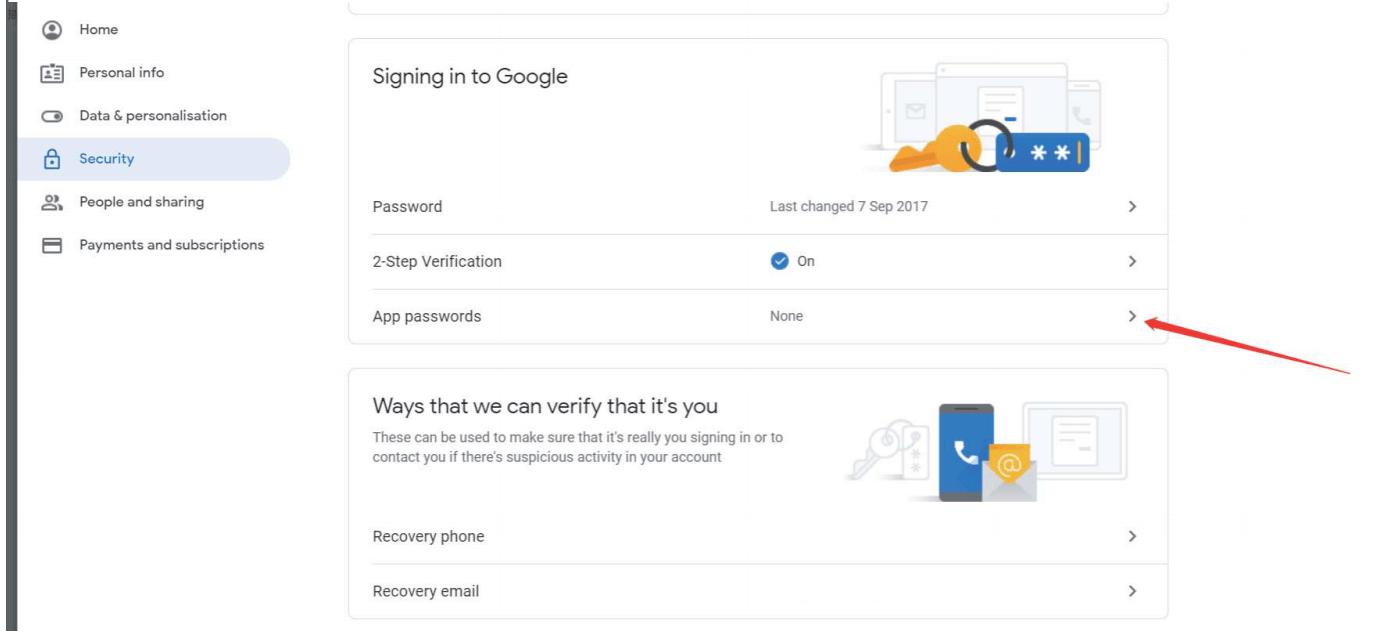 How To Get 16-Digit App Password