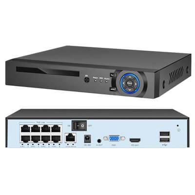 XMeye 4K POE Network Security Surveillance