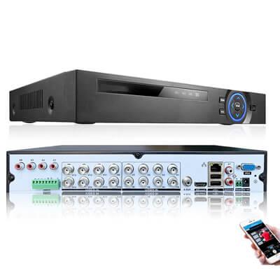 XMeye 6 IN 1 16CH DVR security system